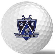 1 Dozen (L.A Kings NHL Logo) Titleist Pro V1 X Mint Golf Balls
