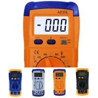 LCD Digital Voltmeter Ammeter Ohmmeter OHM Multimeter Volt AC DC Tester Me YVI