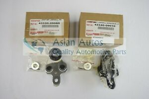 Genuine Lexus RX330 RX350 05-09 Lower Ball Joints 4334009010 and 4333009560 OEM