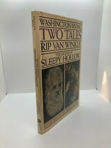 "1984 ""RIP VAN WINKLE"" ""LEGEND OF SLEEPY HOLLOW"" by Washington Irving Barry Moser"
