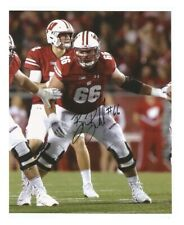 Beau Benzschawel Signed/Autographed Wisconsin Badgers 8x10 Photo w/Coa