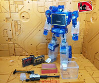 Transformers THF-01 MP-13 Transparent sound wave with Two tapes Limit In Stock