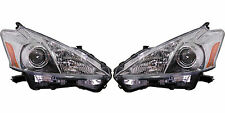 2012 2013 TY PRIUS V HEAD LIGHT LAMP LEFT AND RIGHT PAIR SET