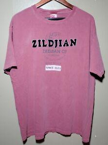 ZILDJIAN T-Shirt Mens Size Large