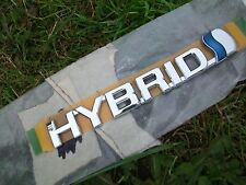 Toyota Prius Hybrid Badge, Part Number 75374-47010