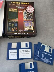Cannon Fodder Amiga 32 Game Collection The Chaos Engine
