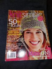 Knit Simple Magazine Fall 2014 Issue