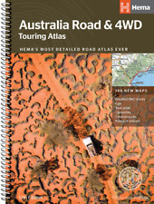 Hema Australia Road & 4WD Touring Atlas  *FREE SHIPPING - NEW*