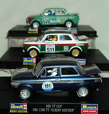 REVELL/MONOGRAM 3 CAR COMBO NSU 1300 TT CUP INCLUDES 08375, 08356 & 08357  1/32