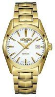 ROAMER Swiss Searock 210844-48-25-20  Swiss Quartz Goldtone Women's Watch - New!