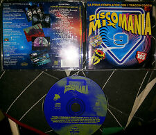 DISCOMANIA MIX 9 CD 1995 + CD ROM TRACK 21 TRACKS mai suonato
