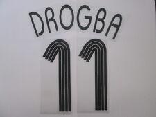 Drogba no 11 Chelsea Champions League Football Shirt Name Set Kids Youth