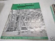 LE NOUVEAU JOURNAL DE CHARPENTE MENUISERIE N° 9 septembre 1958 H VIAL *