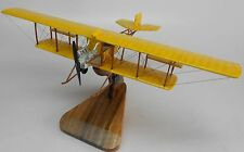 Fowler-Gage Tractor 1913 Airplane Desk Wood Model Big New