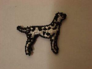 DALMATION DOG EMBROIDERY APPLIQUE PATCH EMBLEM LOT (48 DOZEN)