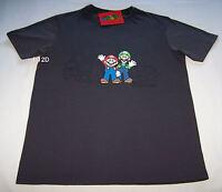 Nintendo Mario Luigi Mens Grey Printed Short Sleeve T Shirt Size XS New