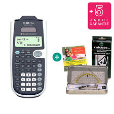 TI 30 X Plus MultiView Taschenrechner + GeometrieSet Lern-CD Garantie