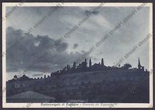 RIMINI SANTARCANGELO DI ROMAGNA 07 CONVENTO CAPPUCCINI Cartolina VIAGGIATA 1937