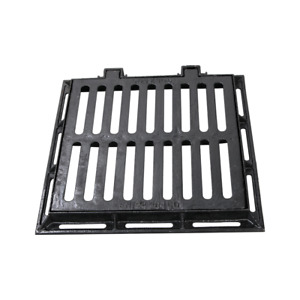Cast Iron Sewer Grate Drain Catch Basin Cover 20x20 inch with Base Light Traffic