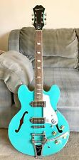 Epiphone Casino Limited Edition Turquoise with Bigsby 2nd