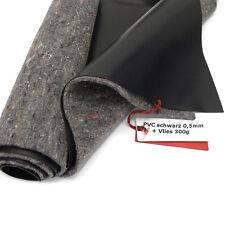 SIKA Premium PVC Teichfolie 0,5mm schwarz+Teichvlies V300 4m br. Länge wählbar
