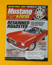 MUSTANG & FORDS MAGAZINE APRIL/2007...RESKINNED ROADSTER: 2-SEATER CONVERSION