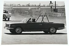 Vtg 1960's IKA Industrias Kaiser Argentina Torino 380 7x9.5 B&W Racetrack Photo