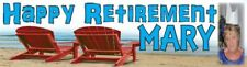Retirement Poster Banner Personalised - just ask??