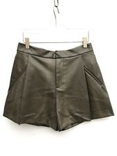 Zara Snake Skin Faux Leather Shorts Size Small Ref 2398 240