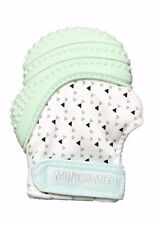 Munch Mitt Pastels Specialty Collection - Silicone Teether Mitten Mint Green