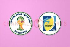 2014 World Cup Brazil Qualifiers Sleeve Soccer Patch / Badge