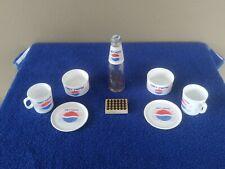1980's Chilton Toys Aluminum Specialty Plastic Diet Pepsi Children's Set