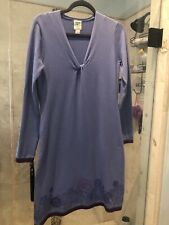 New Nwt Title Nine | knit Long sleeve dress Size S Purple Floral