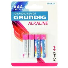 4 Pile Batterie ministilo AAA alcaline 950 mAh Grundig