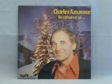Charles Aznavour – Un Enfant Est Né...                      Barclay – 91.022