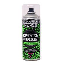 Detergente pulizia catena freni bicicletta biodegradabile MUC-OFF spray 400ml