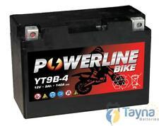 YT9B-4 Powerline Motorfiets Batterij 12V 9Ah YT9B4