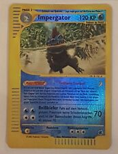 Pokemon Karten Impergator 47/165 Rare Deutsch Reverse Holo