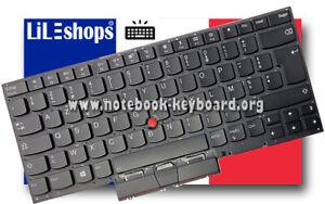 Clavier Français Original Lenovo ThinkPad X1 Carbon 7th Gen 20QD 20QE 20R1 20R2