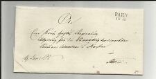 Preussen V / BAHN 18.10., L2 auf Pracht-Brief n. Stettin