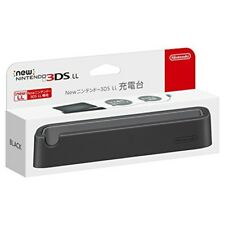 From JP New Nintendo 3DS XL LL Charging Stand Black Cradle RED-A-CDKA Free ship