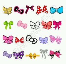 Bows Nail decals water decals Free shipping! Cute bows nail art