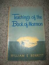 TEACHINGS OF THE BOOK OF MORMON by Berrett 1950 Sunday School Lessons