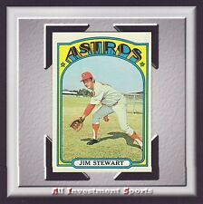 1972 Topps JIM STEWART #747 NM-MT *awesome baseball card for your set* M90C