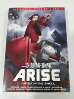 Arise Ghost IN The Shell The Special Films 4 X DVD + Extra Spagnolo Giapponese