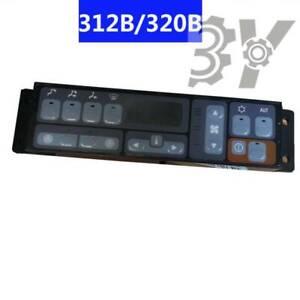 312B 325B 330B 320B 315B Excavator Air Conditioning Controller 139-7207