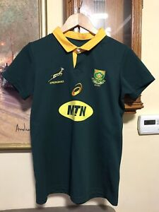 Asics South Africa rugby jersey (SIZE MEDIUM/SMALL)- FREE SHIPPING!!!