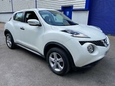 🔹2015 NISSAN JUKE VISIA 1.5 DIESEL 67K WHITE SUV GOOD FAMILY CAR GOOD SPEC🔹