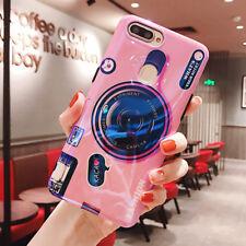 Taschen Hülle für Huawei Y5 2018 P Smart Honor Play P20 Camera Style Phone Case