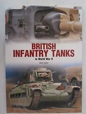 Kagero Book: British Infantry Tanks in World War II - Color Plates, Color & BW p